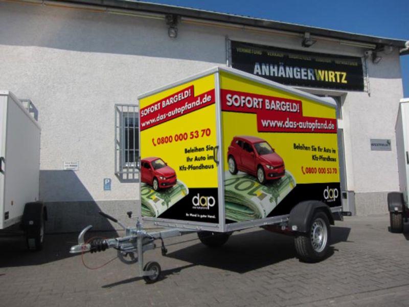 Kofferanhaenger mieten in krefeld