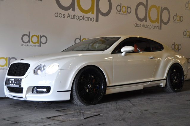 Weiß Bentley Continental GT 63 Mansory