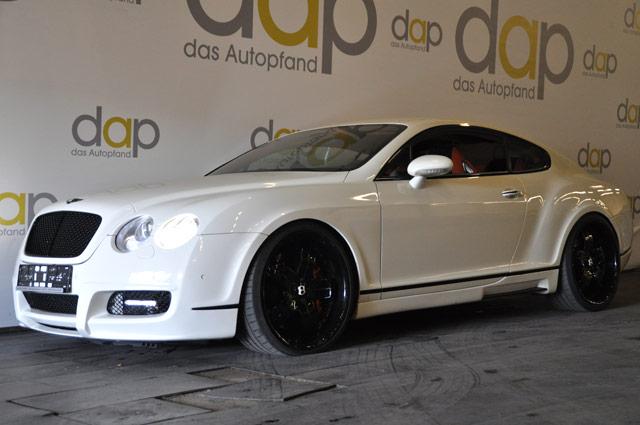 Weiß Bentley Continental GT 63 Mansory