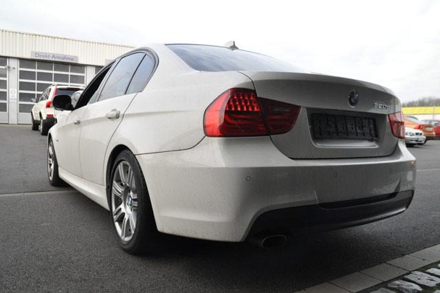 Heck des BMW 320d
