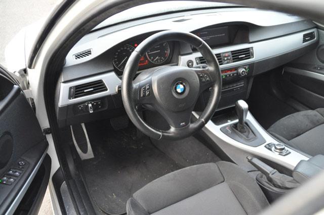 Innenraum des BMW 320d