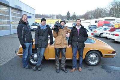Drehtag mit Christian Cormelius für Grip - das Motormagazin