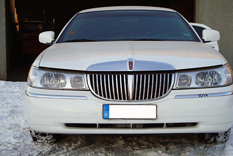 Ford Lincoln Town Car - Stretchlimousine Versteigerung