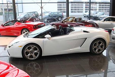 Lamborghini Gallardo Spyder aus Meerbusch beliehen