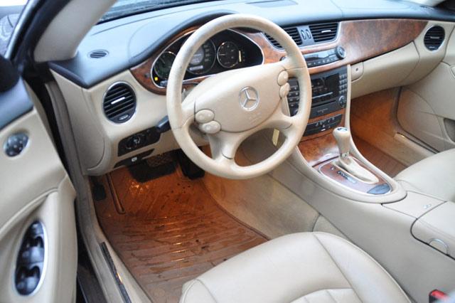 Innenraum des Mercedes Benz CLS 320 CDI