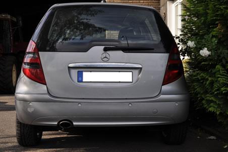 Heck Mercedes Benz A200