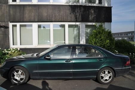 Mercedes Benz S 400 CDI zu versteigern