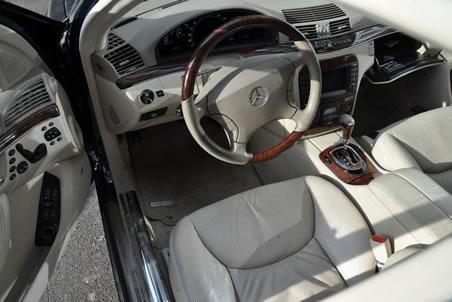 Innenraum Mercedes Benz S 400 CDI